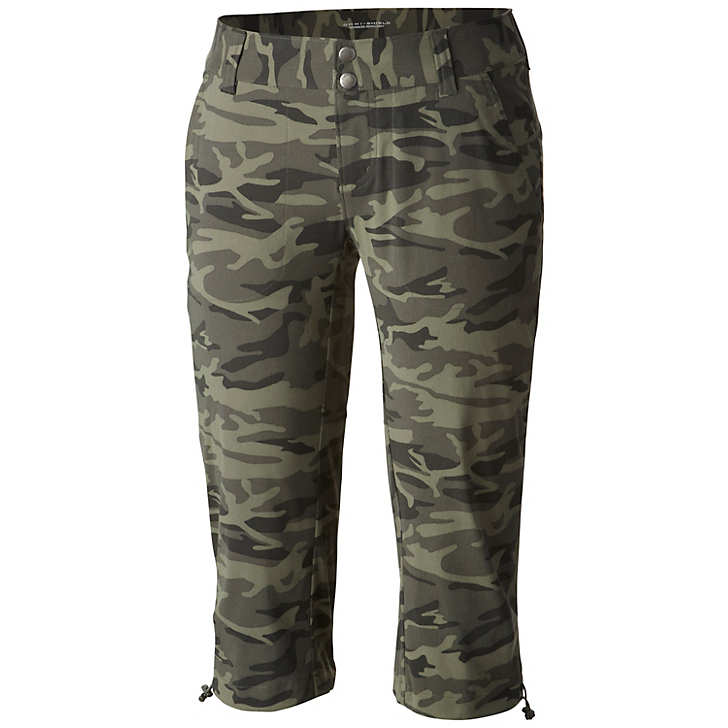 Columbia Women's Saturday Trail Camo Knee Pant