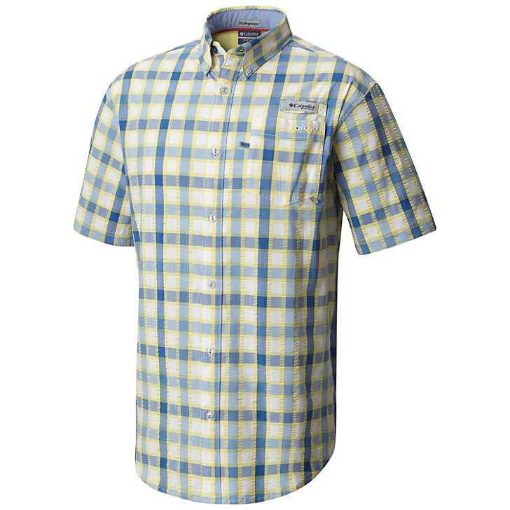 Columbia Men's Super Harborside Woven Short Sleeve Shirt
